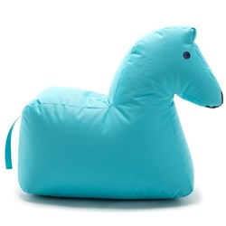 Sitting Bull Happy Zoo Lotte Pouf Blue
