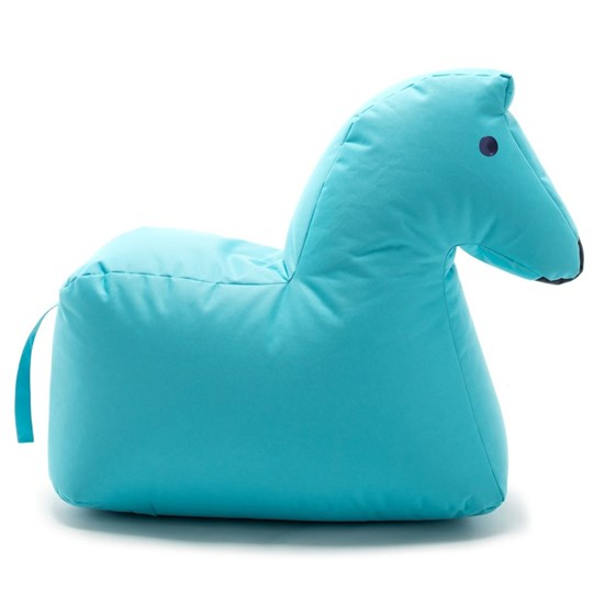 Sitting Bull Happy Zoo Lotte Pouf Blue Light Blue