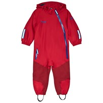 Bergans Lilletind Coverall Red Red/Burgundy/AthensBlue