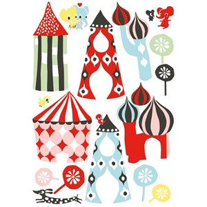 Image of Littlephant Little Town Wall Stickers (3012596839)