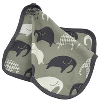 Littlephant Elephant Comfort Blanket Grey Black