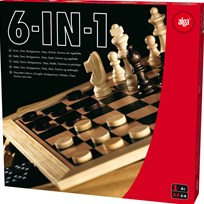 Alga 6-in-1 Game Box Multi