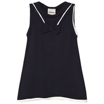 Lillelam Sailor Dress Navy Navy