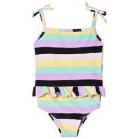 The BRAND Classic Swimsuit Pastel Stripe pastell stripe