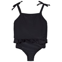The BRAND Classic Swimsuit Black Black