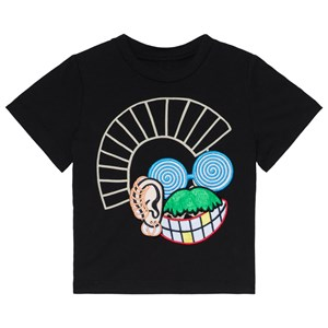 Image of Stella McCartney Kids Arlo Velcro Patches T-Shirt Black 10 years (3012594157)