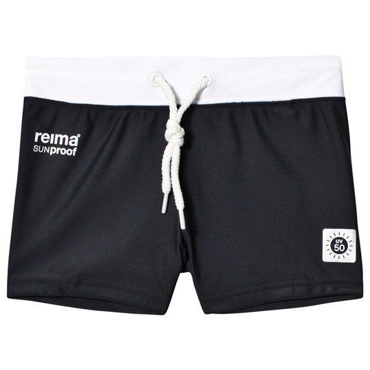 Reima Soft Black Tonga Swimming Trunks Soft black