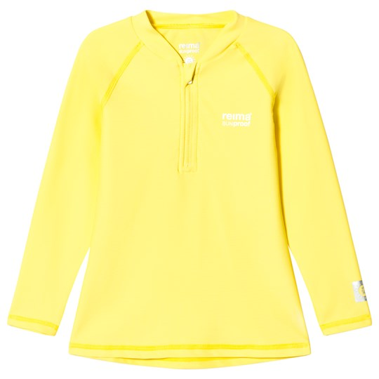 Reima Yellow Solomon Swim Shirt Yellow