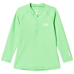 Reima Summer Green Solomon Swim Shirt