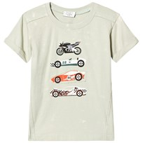 Hust&Claire Green Tee Cars Green