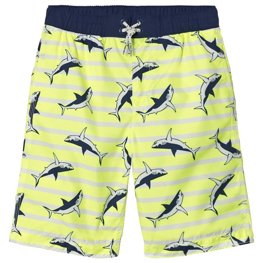 GAP Shark Swim Trunks Safety Yellow SAFETY YELLOW 13-0630