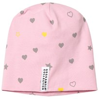 Geggamoja Limited Edition Pink Heart Hat Pink heart