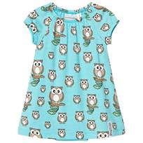 Geggamoja Bamboo dress Owl Owl