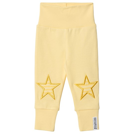 Geggamoja Star Pants Light Yellow L.yellow