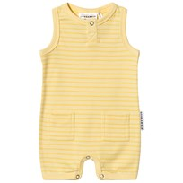Geggamoja Stripe Romper Light Yellow/Soft Yellow L.yellow/s.yellow