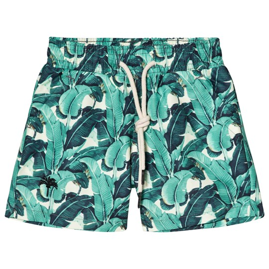 OAS Banana Leaf Swim Shorts Green