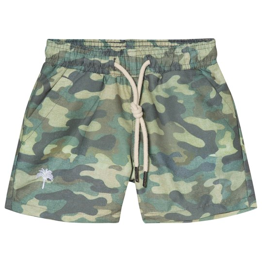 OAS Cammo Swim Shorts Green