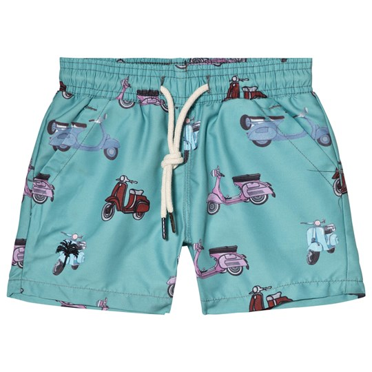 OAS Moped Swim Shorts Blue