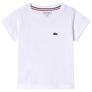 Image of Lacoste White Short SleevWhite Short Sleeve T-Shirt e Classic Tee 10 years (1114163)