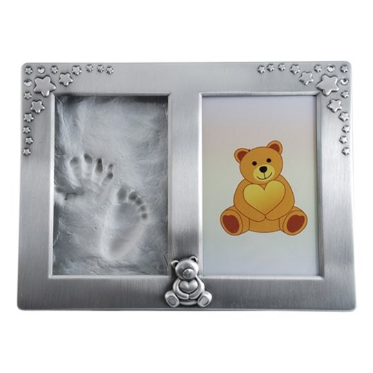 Dacapo Photo Frame for Hand/Footprint Silver Silver