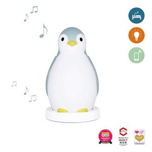 Image of Zazu Pam The Penguin Sleeptrainer Blue (2743766901)