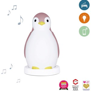 Image of Zazu Pam the Penguin Sleeptrainer Pink (2743766905)