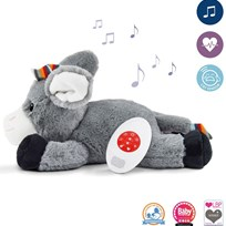 Zazu Don Soft Toy Soother Hvid