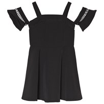 Bardot Junior Black Off the Shoulder Dress Black