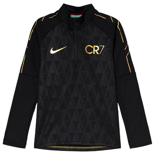 NIKE Black Dri-FIT Academy Drill CR7 Top 010
