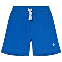 Petit Bateau Blue Drawstring Sweat Shorts