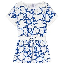 Petit Bateau Blue and White Flower Dress