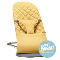 Babybjörn Baby Bouncer Bliss Cotton Yellow Yellow, Cotton