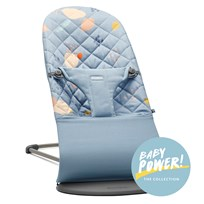 Babybjörn Baby Bouncer Bliss Cotton Confetti/Blue Confetti/Blue, Cotton