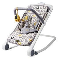 Bababing RockOut Baby Bouncer Ellie Elephant Grey