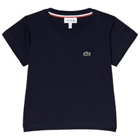 Lacoste Navy Short Sleeve T-Shirt Navy Blue