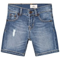 Levis Kids Mid Wash Distressed 510 Jeansshorts 46