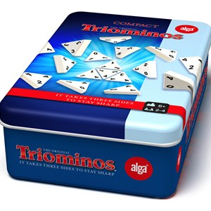 Bilde av Alga Triominos Travel Tour Tin Game 6+ Years