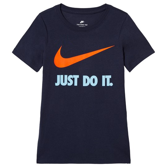 NIKE Just Do It Swoosh Träning T-shirt Svart 454