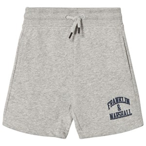Image of Franklin & Marshall Gray Badge Logo Sweat Shorts 14-15 years (1058502)