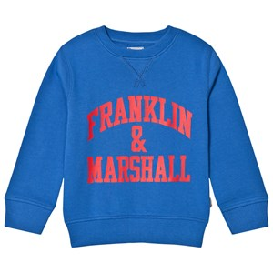 Image of Franklin & Marshall Blue Branded Sweater 14-15 years (3125253969)