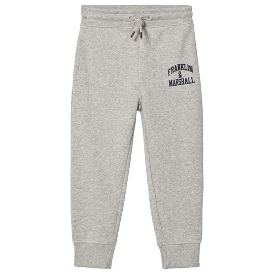 Franklin & Marshall Gray Logo Sweatpants VINTAGE GREY HEATHER
