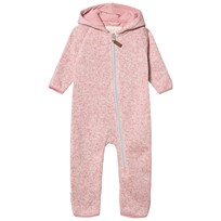 ebbe Kids Koi fleece suit Dove pink Dove pink