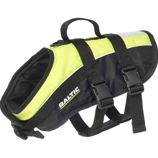 Baltic Mascot Dog Vest Black/UV Yellow Black/UV-Yellow