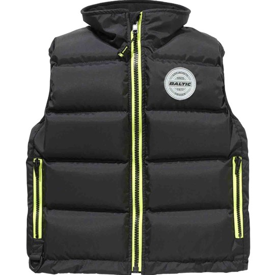 Baltic Surf and Turf Junior Vest Black Black
