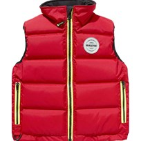 Baltic Surf and Turf Junior Vest Red Punainen