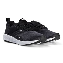 Puma NRGY Comet Junior Running Shoes Asphalt/Black Asphalt-puma Black-puma White