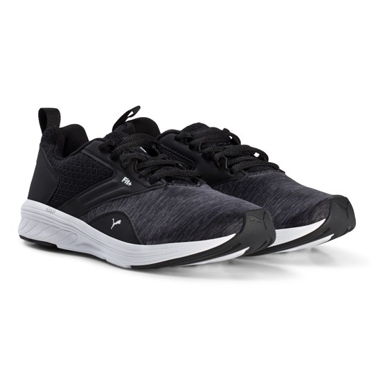 Puma - NRGY Comet Junior Running Shoes Asphalt/Black ...