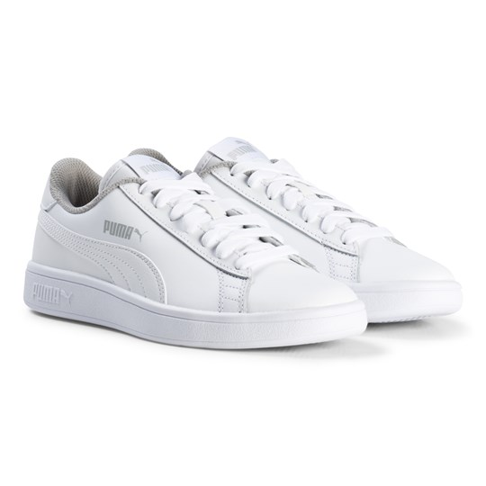 Puma Smash V2 Junior Sneakers White Puma White-puma White