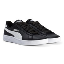 Puma Smash V2 Junior Sneakers Black Puma Black-puma White
