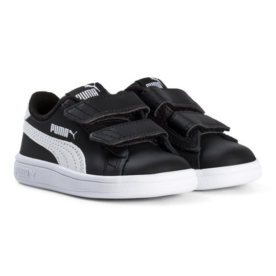 Puma Smash V2 Infant Sneakers Black Puma Black-puma White